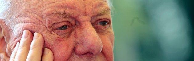 """Dario Fo: """"Il voto di fiducia di Berlusconi a Letta? E' stato una pagliacciata gigantesca"""""""