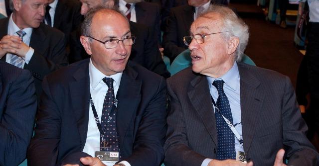 Federico Ghizzoni e Giovanni Bazoli