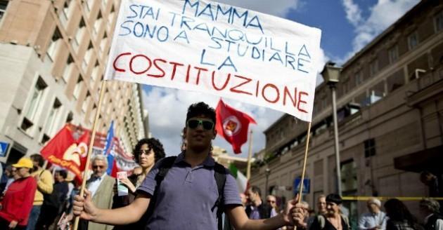 Manifestazione Salviamo la Costituzione