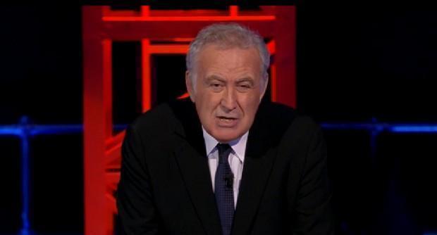 """Servizio Pubblico, Santoro: """"Non mi sento italiano ma per fortuna o purtroppo lo sono"""""""