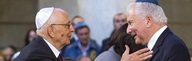 """Shoah, Napolitano: """"Coesione tra religioni"""". Papa: """"Mai abbassare la guardia"""""""