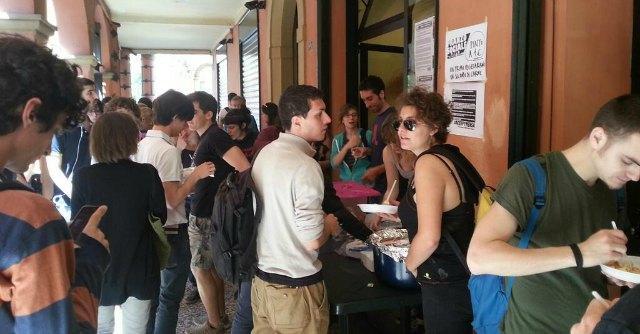 Occupy mensa Bologna