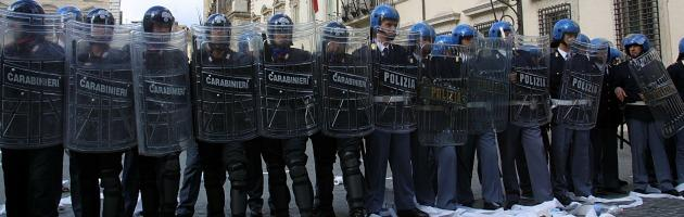"""Roma blindata nel giorno della protesta. I cittadini: """"Noi ostaggio della sicurezza"""""""