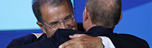 Romano Prodi e Vladimir Putin