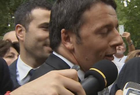 """Servizio Pubblico, Renzi: """"Porcellum? Bisogna cambiarlo, anche senza il sì del Pdl"""""""