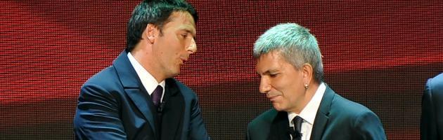 Matteo Renzi e Nichi Vendola