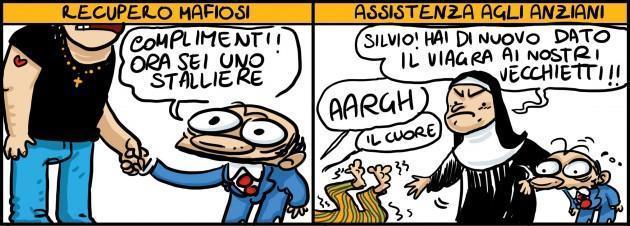 servizi sociali Berlusconi Natangelo