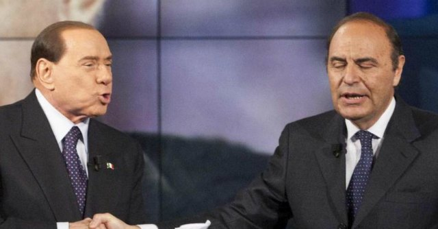 Silvio Berlusconi e Bruno Vespa