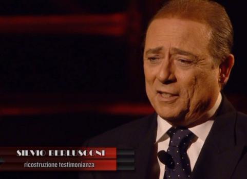 """Servizio Pubblico, Berlusconi: """"Il mio amico Gianpy"""" (prima parte)"""