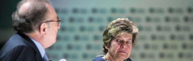 Giorgio Squinzi e Susanna Camusso