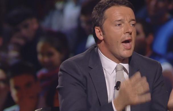 """Servizio Pubblico, Renzi a Travaglio: """"Chi vota per me vota per le mie idee, non per la compagnia di giro"""""""