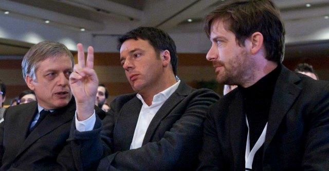 Civati Cuperlo e Renzi