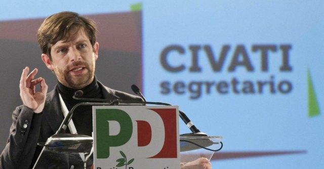 """Civati a Renzi: """"Dicevi 'Grillo partecipa alle riforme e rinuncio ai rimborsi'. Ora fallo"""""""