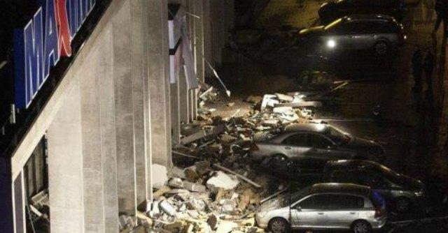 Lettonia - crollo supermercato