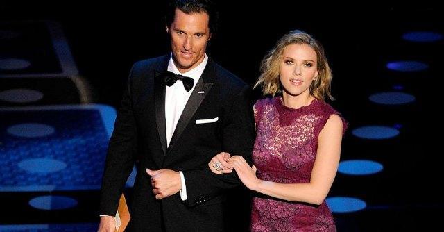 Matthew McConaughey e Scarlett Johansson