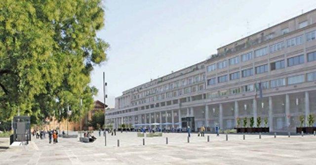 Piazza della vittoria Reggio Emilia