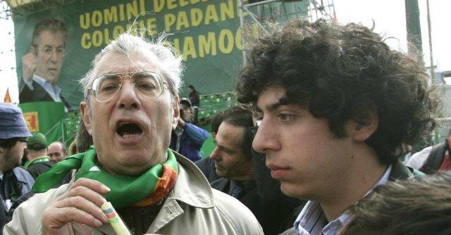 Renzo e Umberto Bossi