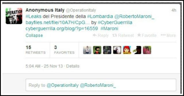 Anonymous Maroni