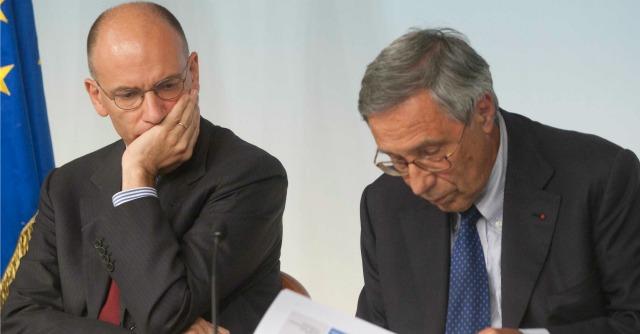 Enrico Letta e Franco Bassanini