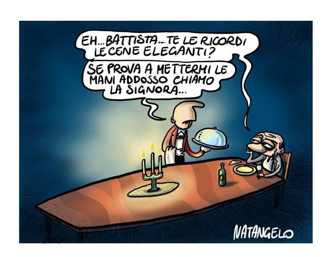 La vignetta del giorno: Le cene eleganti