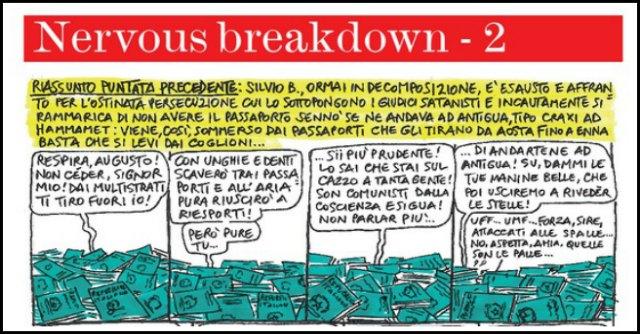 """Berlusconi, il lancio dei passaporti e il supporto dei """"falchetti"""""""