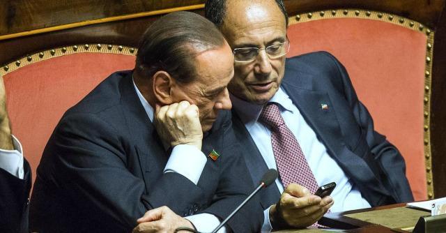 Silvio Berlusconi e Renato Schifani