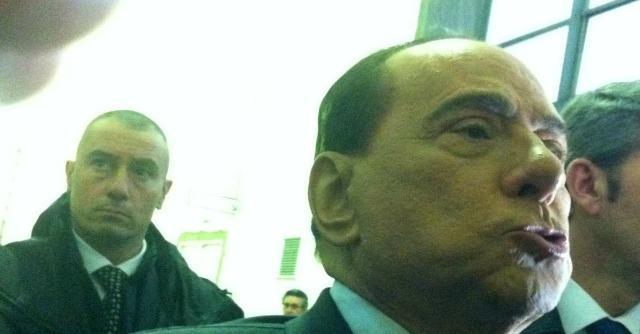 Silvio Berlusconi in tribunale