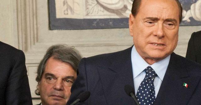 Renato Brunetta e Silvio Berlusconi