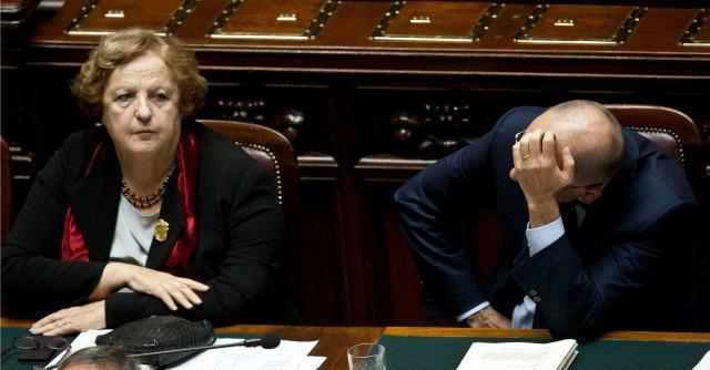 Anna Maria Cancellieri e Enrico Letta