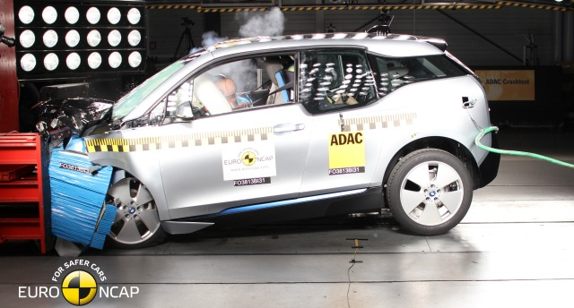 Crash test BMW i3