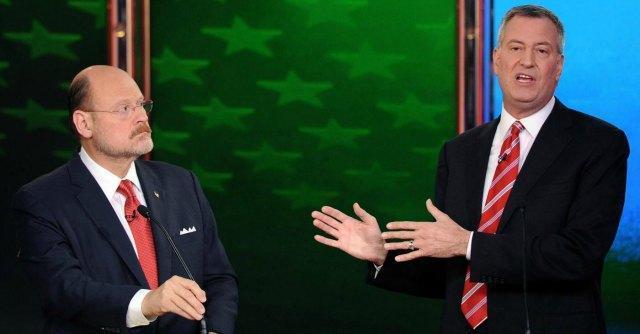 Elezioni New York, il democratico Bill de Blasio favorito alla carica di sindaco