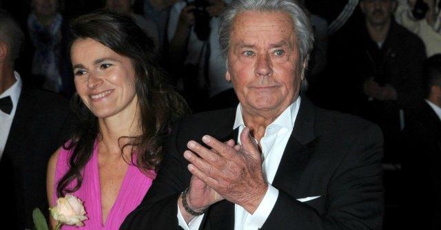 Aurelie Filippetti e Alain Delon