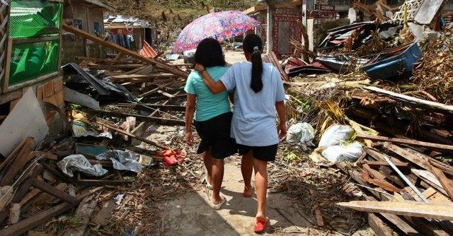 Tifone Filippine - le vittime