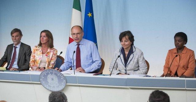 Governo, tante promesse ma pochi impegni mantenuti: le balle d'acciaio di Letta