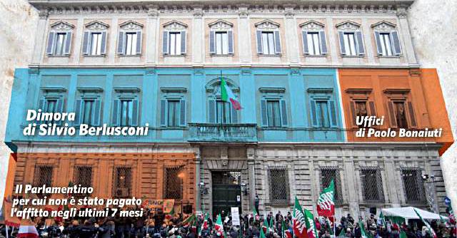 Palazzo Grazioli, il condomino Berlusconi non paga l'affitto a FI. E cerca casa
