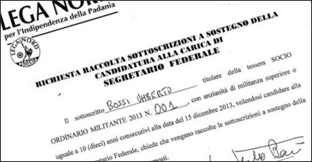 Lega Nord, in vista del congresso parte il tutti contro tutti