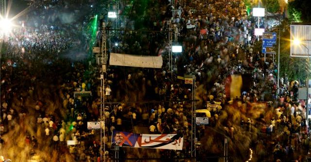 Manifestazione Egitto