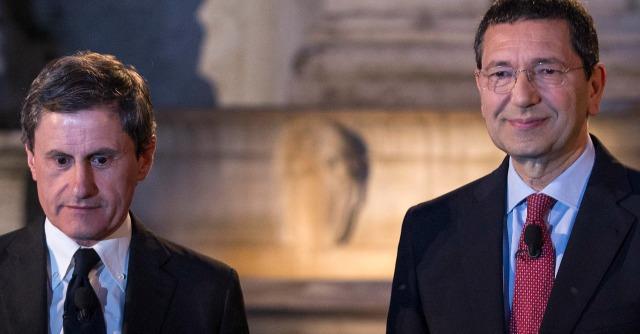 Gianni Alemanno e Ignazio Marino