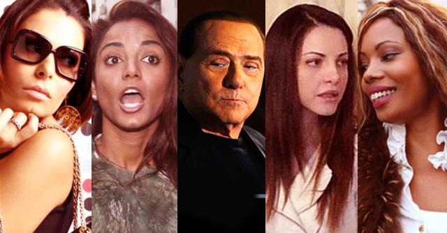 Olgettine e Berlusconi