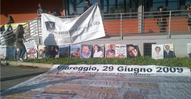 """Strage di Viareggio, lo Stato non è parte civile. Il sindaco scrive a Letta: """"Ripensaci"""""""