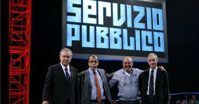 """Servizio pubblico, """"Goodbye Italia"""": ospiti Stefano Fassina e Franco Bechis"""