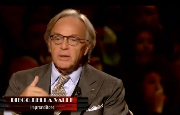 """Servizio Pubblico, Della Valle vs politici: """"State affondando questo Paese"""""""