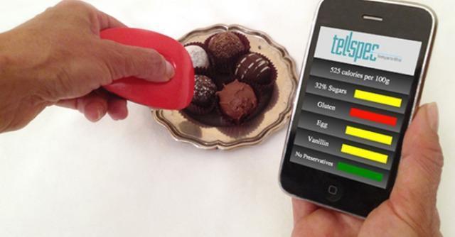 Alimenti ai raggi laser: un telecomando svela gli ingredienti nascosti