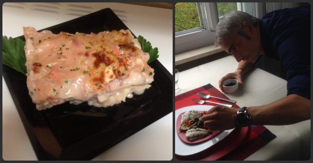"""Ricette di Natale: """"besciamella di pesce"""", variante light dello chef Davide Valsecchi"""