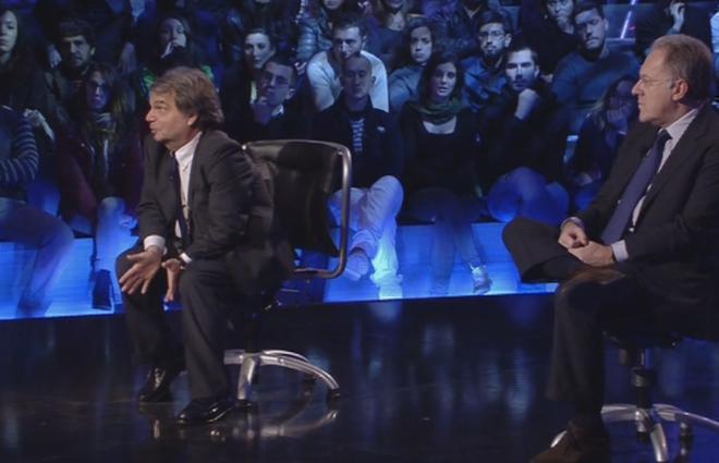Servizio Pubblico, Rampini, Sorgi, Travaglio e Brunetta su scontro Grillo-giornalisti
