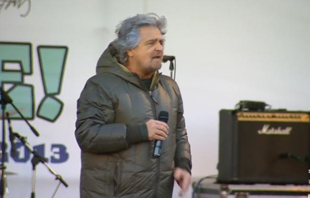 Servizio Pubblico, Napolitano secondo Grillo e Berlusconi