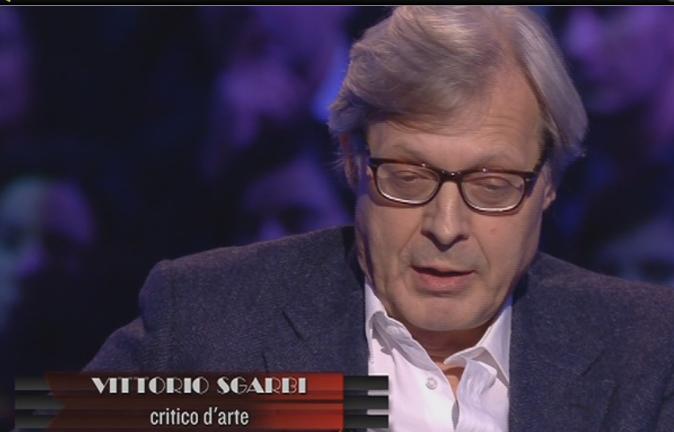 """Servizio Pubblico, Sgarbi: """"È giusto non pagare le tasse. Devo pagare per un'Italia devastata?"""""""