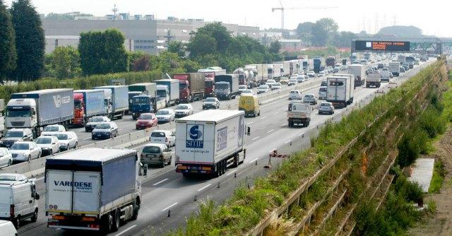 Inquinamento, cromo 1.400 oltre i limiti su autostrada Milano-Brescia