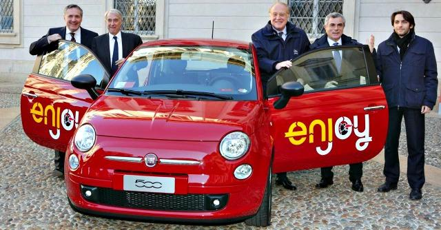 Car sharing Eni Enjoy
