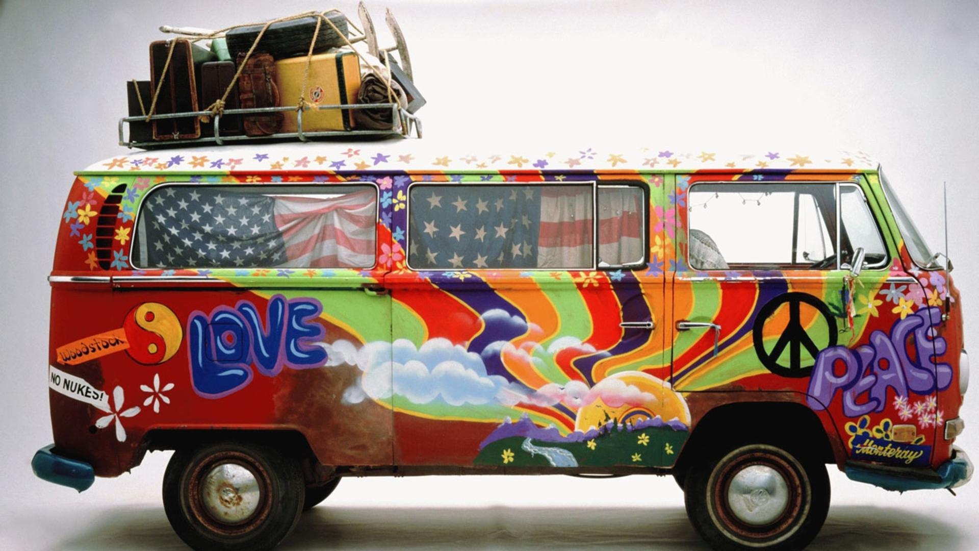 Risultati immagini per furgoncino hippy